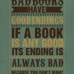 Are you sure to have written a good book?